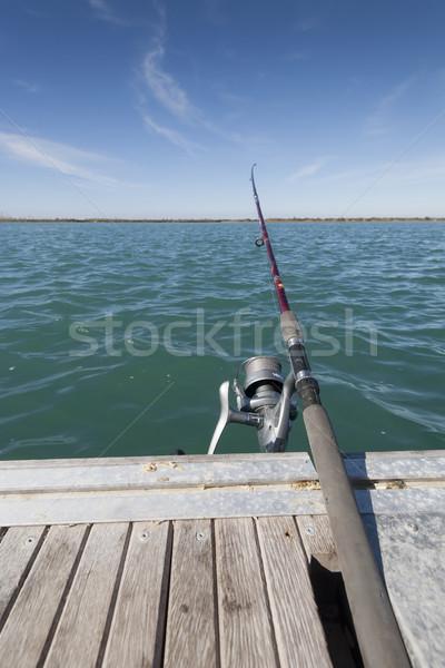 fishing rod in river Stock photo © jarp17