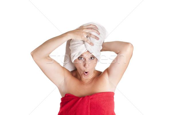 towel on head Stock photo © jarp17
