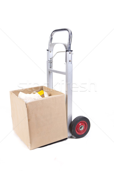 pushcart box Stock photo © jarp17