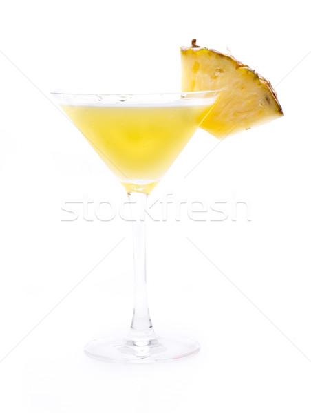 Ananas bir ünlü kokteyller dünya meyve Stok fotoğraf © jarp17