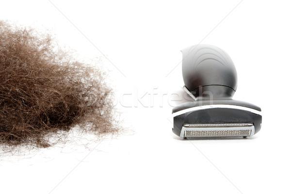 Makine erkek saç giderme güzellik stüdyo Stok fotoğraf © jarp17
