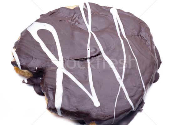 Zebra grande bolo delicioso caseiro maneira Foto stock © jarp17