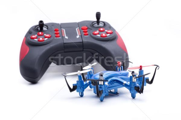 Nano azul pequeno voar acelerar Foto stock © jarp17