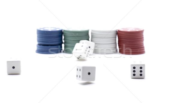 tokens dice casino Stock photo © jarp17