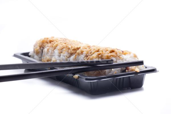 Picante rodar arroz relleno típico Foto stock © jarp17