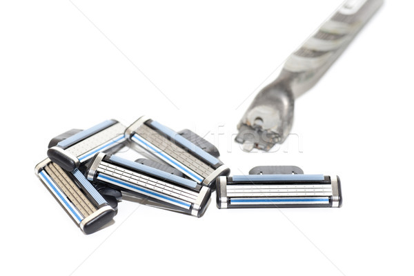 several razors blade Stock photo © jarp17