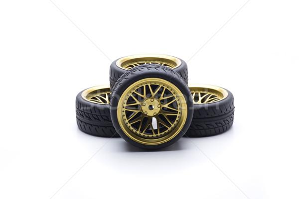 Ruota design ruote oro colore velocità Foto d'archivio © jarp17