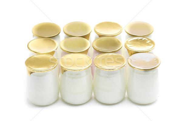 lot yogurt Stock photo © jarp17