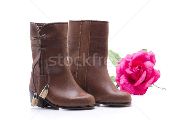 boots and rose Stock photo © jarp17
