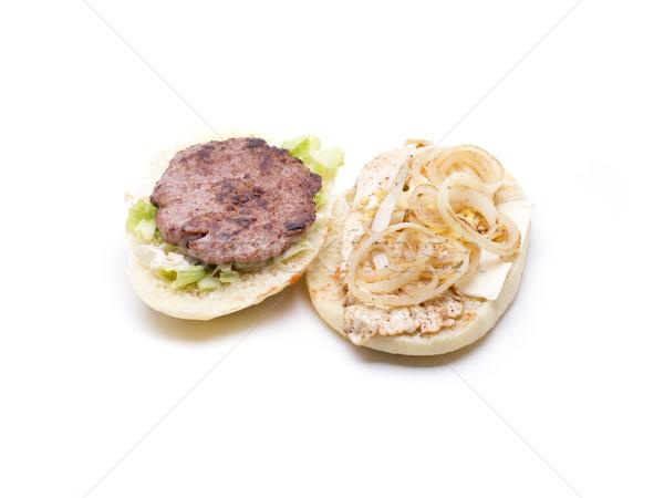открытых природы домашний Burger природного продукции Сток-фото © jarp17