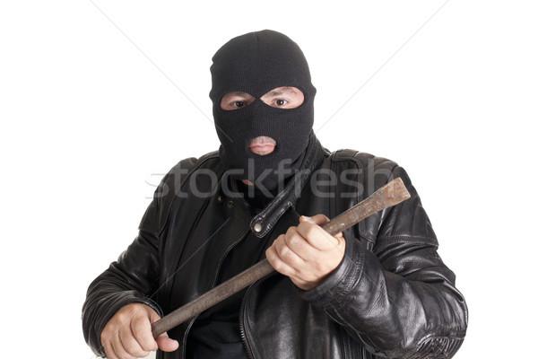 Hırsızlık araç hırsız adam güvenlik bar Stok fotoğraf © jarp17