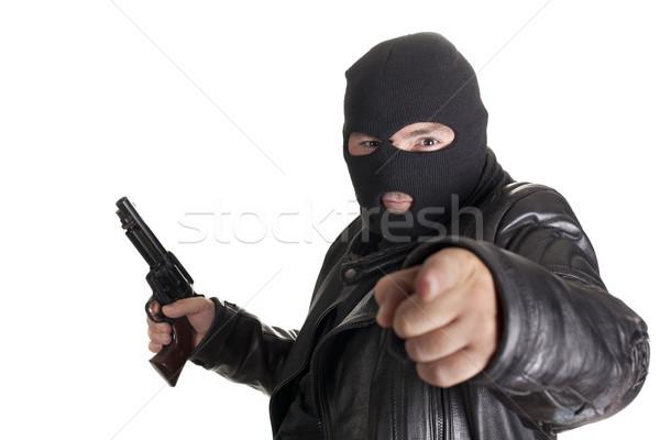 balaclava man Stock photo © jarp17