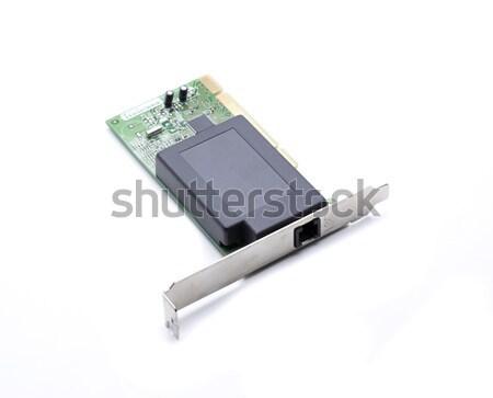 Hardware red tarjeta placa ordenador todo Foto stock © jarp17