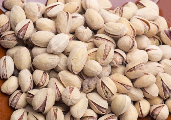Pistache saine écrou beaucoup vitamines alimentaire Photo stock © jarp17