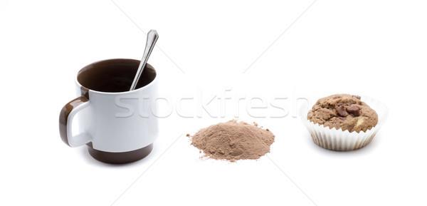 cupcake and cofee Stock photo © jarp17