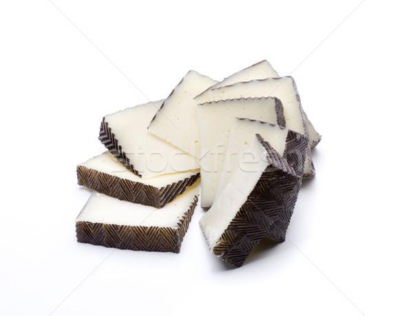 сыра ломтик кусок молочная продовольствие свежие Сток-фото © jarp17