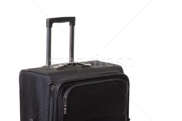 Bavul işlemek siyah hazır seyahat çanta Stok fotoğraf © jarp17