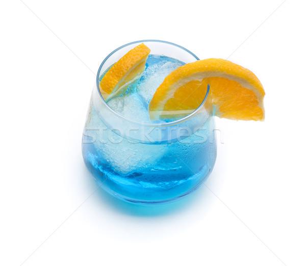 cocktail blue lagoon Stock photo © jarp17