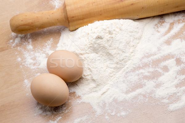 making homemade dough Stock photo © jarp17