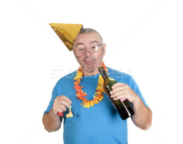 Ubriaco party ubriaco uomo bianco Foto d'archivio © jarp17