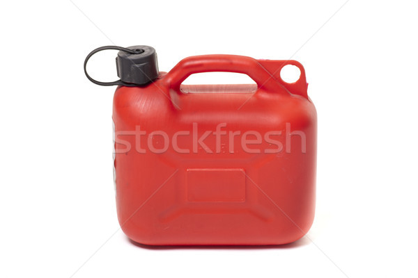 Rouge contenant essence capacité studio Photo stock © jarp17