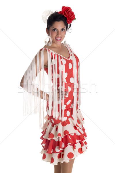 flamenca woman Stock photo © jarp17