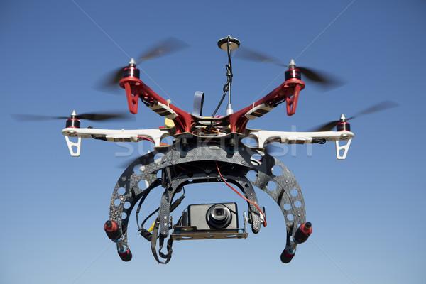 Fotografia preparado tecnologia foto helicóptero Foto stock © jarp17