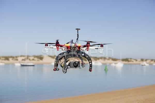 Plaj fotoğrafçılık hazır teknoloji fotoğraf Stok fotoğraf © jarp17