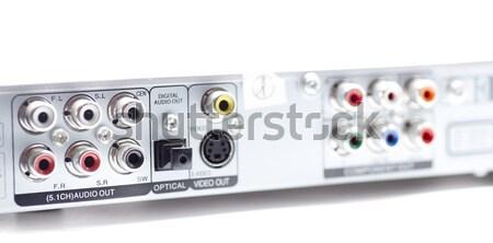 Couleurs stéréo audio vidéo télévision industrie Photo stock © jarp17