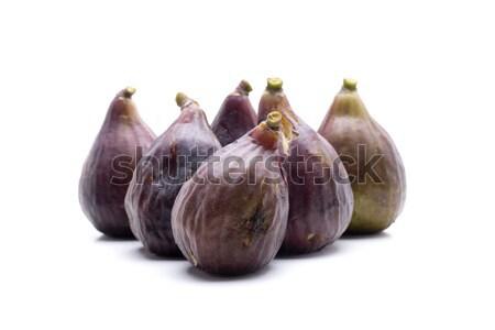 Hat gyümölcs kicsi fehér diéta természetes Stock fotó © jarp17