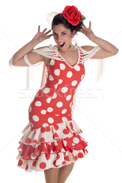 flamenca andalusian Stock photo © jarp17