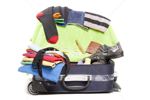 baggage woman Stock photo © jarp17