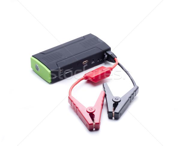 Taşınabilir pil güç tüm araba Stok fotoğraf © jarp17