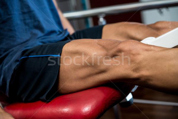 Health Club Leg Exercises Stock photo © Jasminko
