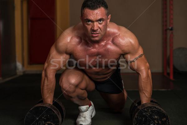 Deadlift Heavy Weights Stock photo © Jasminko