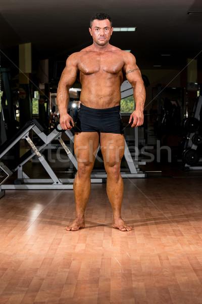 Masculino musculação corpo homem sensual Foto stock © Jasminko