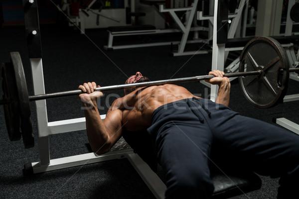 Bench Press Workout Stock photo © Jasminko