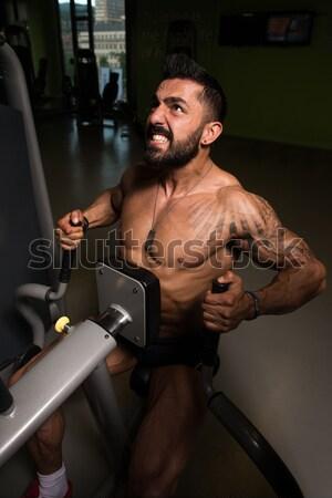 Bodybuilder Drinking Whey Protein Stock photo © Jasminko