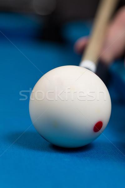 Weiß Ball warten Sport Spaß Stock foto © Jasminko
