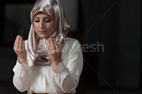Young Muslim Woman Praying Stock photo © Jasminko