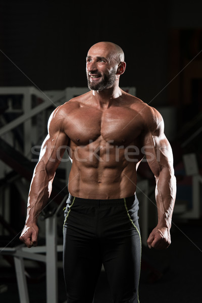 Portrait Of A Physically Fit Mature Man Stock photo © Jasminko