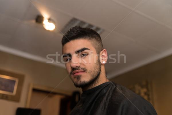 Uomo parrucchiere situazione bello giovani parrucchiere Foto d'archivio © Jasminko