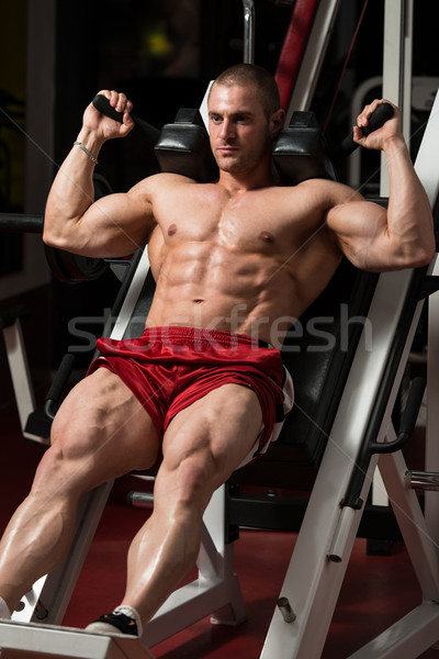 Thats How You Train Legs Calves Stock photo © Jasminko