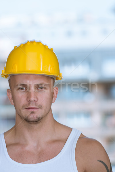 Accident Prevention Safety Helmet Stock photo © Jasminko