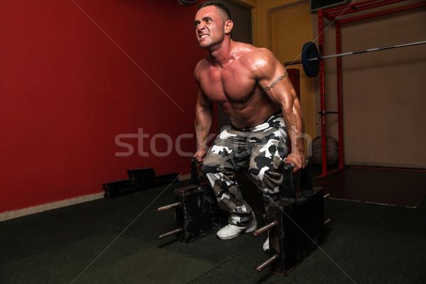 Heavy Weight Deadlift Stock photo © Jasminko