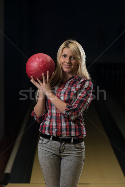 Bowler Poised With His Ball Stock photo © Jasminko