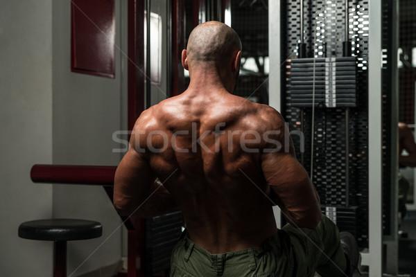 戻る マシン 成熟した 男性 ストックフォト © Jasminko
