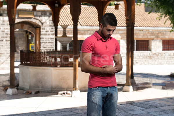 Young Muslim Guy Praying Stock photo © Jasminko