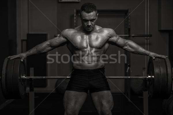 Muscular Wings Stock photo © Jasminko