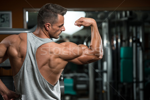 Perfect Biceps Stock photo © Jasminko